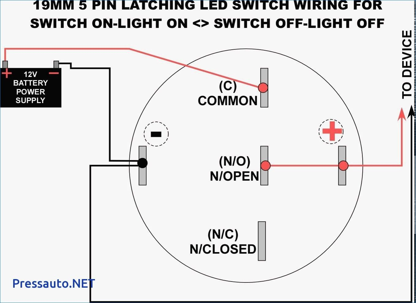 Wiring Diagram For Latching Relay 2 Way Lights Best 5 Pin Bosch 3 Prong Headlight Switch