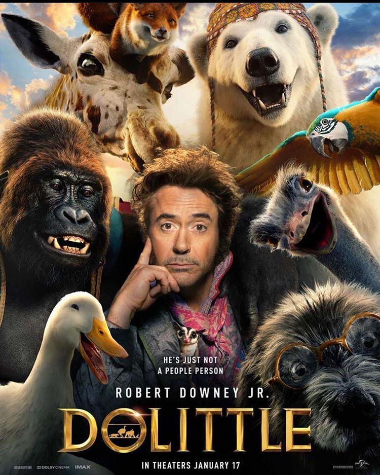 E Eis Que Amanha Tem Trailer Novo De Dr Dolittle Com Downey Jr