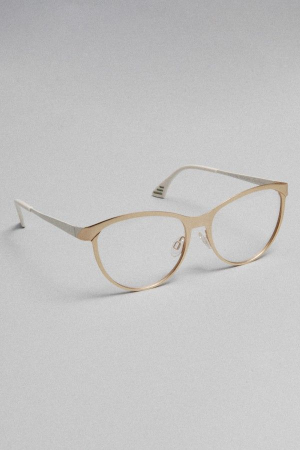 7d649867d2a Optical cat eye in gold