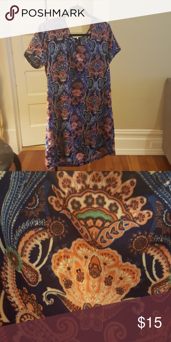 e38e12ca3b8 Paisley print babydoll dress S-M I got this dress at a thrift shop and  there s no