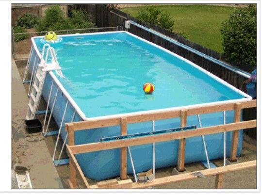 Pool Deck Piscina Jardin Piscinas Piletas