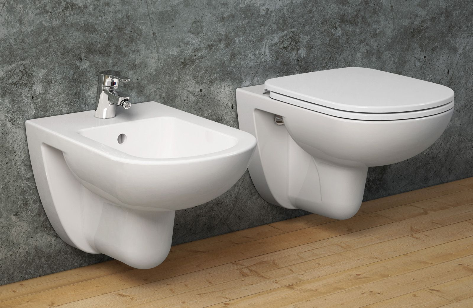 Sanitari Ceramica Per Water E Bidet Di Casa Toilet Bathroom Sink
