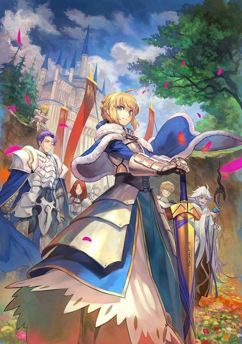 Saber, Merlin... Fate anime series, Anime, Fate