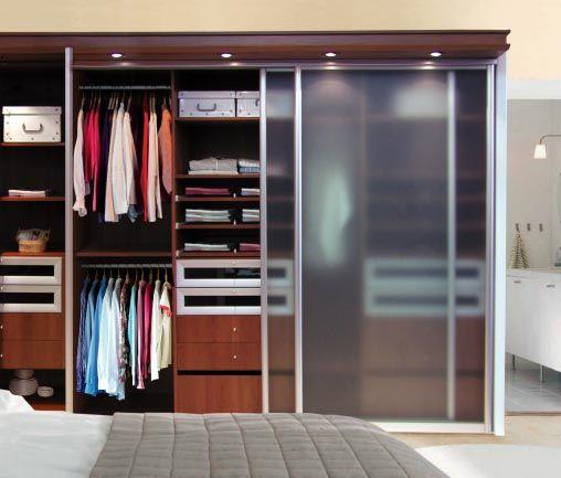 Resultado de imagen de vestidores con puertas de vidrio - Diseno interior armarios ...