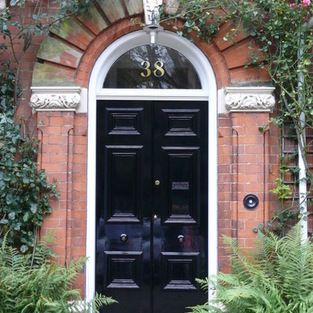 Gold House Numbers - A selection of images from our range