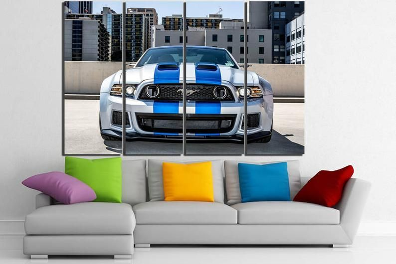 Ford Mustang Shelby Ford Mustang Canvas Ford Mustang Print Etsy In 2020 Cars Canvas Wall Art Ford Mustang Shelby Mustang Shelby