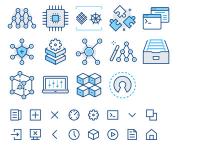 Icons For A Machine Learning Startup Learning Logo Machine Learning Deep Learning Machine Learning