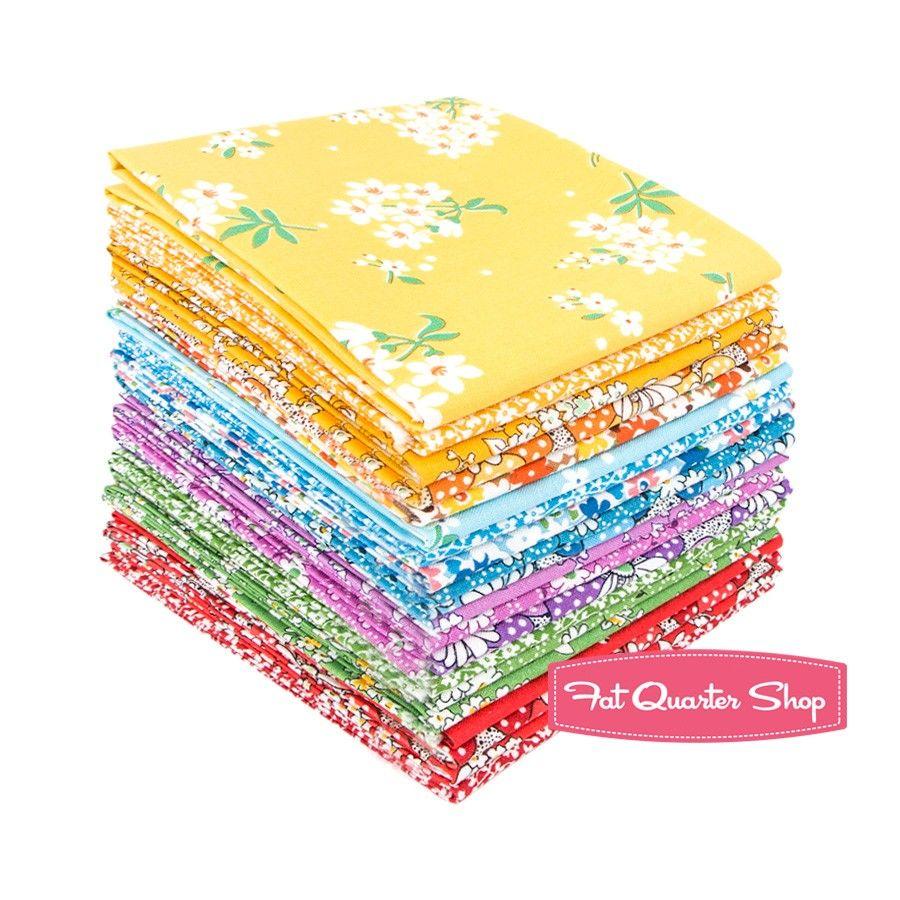 Feedsack Fat Quarter Bundle Whistler Studios for Windham Fabrics | Fat Quarter Shop