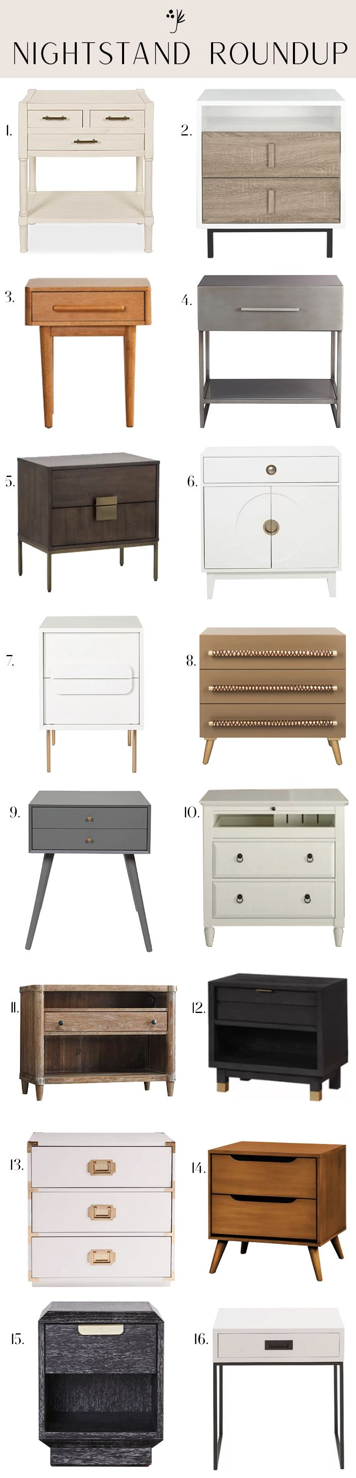 30 Affordable Nightstands For Every Home Affordable Nightstand Home Juniper Home