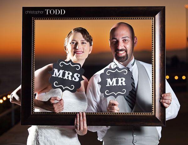 wedding frame photo