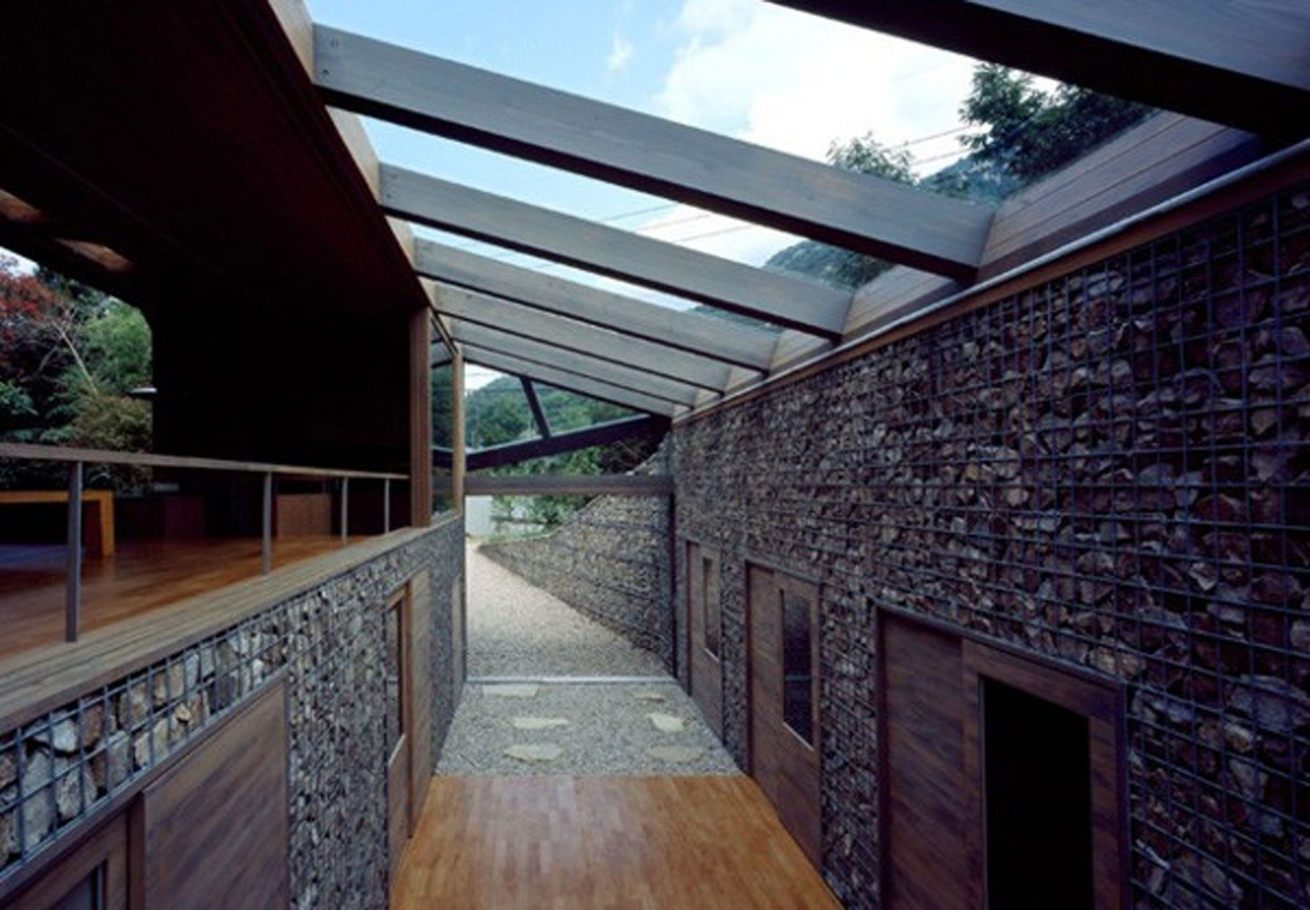 Glass roof highhoise pinterest glass roof glass and for Glass roof design