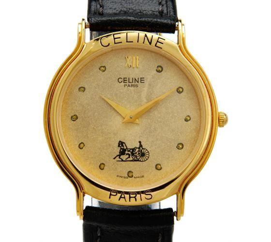 c26677ccb Vintage #Watch - #Celine #Paris #Men's #Quartz #Preowned #Wristwatch ...