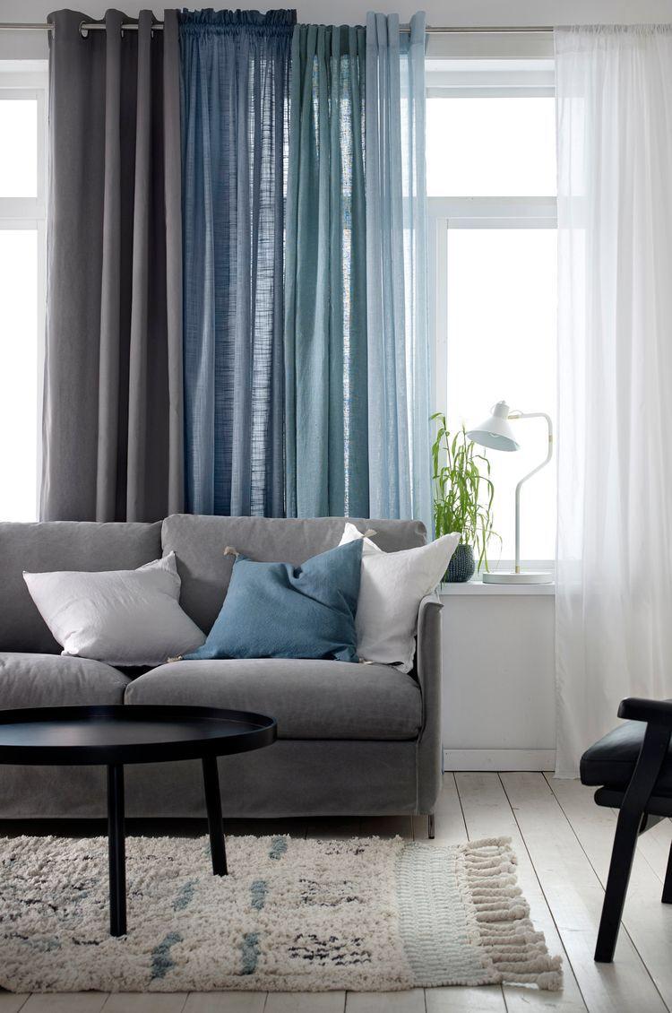 tips på gardiner vardagsrum