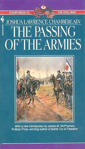 The Passing Of The Armies Barnes Noble Library Of Essential Reading Joshua Chamberlain War Heroes Army