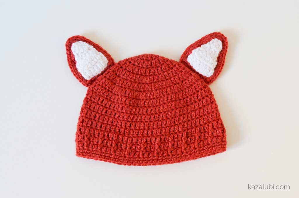 009dbd406cb Tuto pour réaliser un bonnet aux oreilles de renard au crochet
