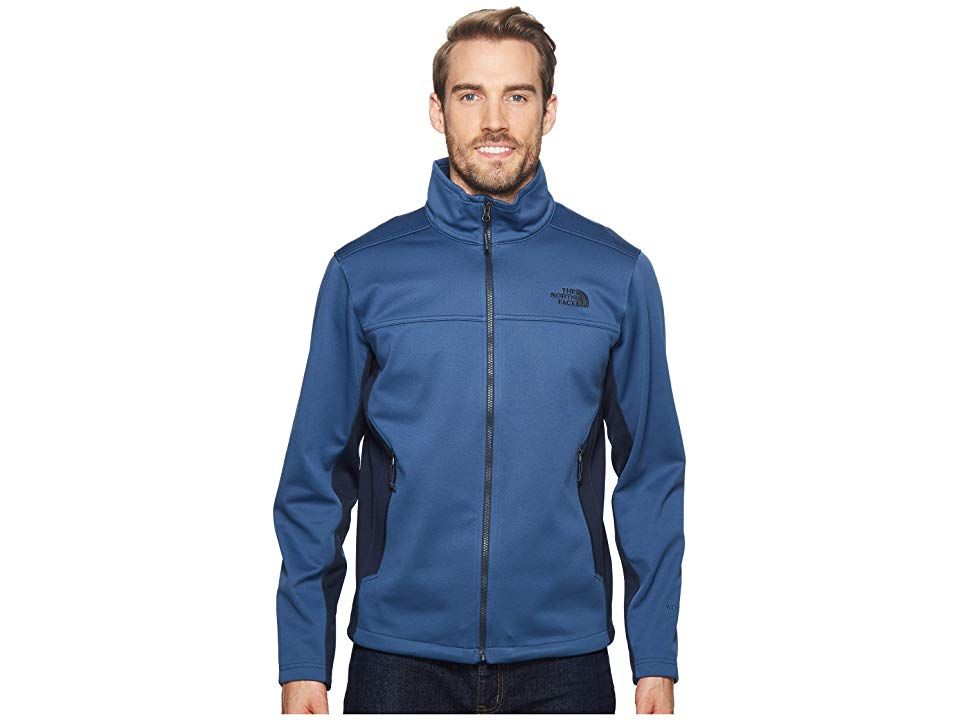 03a87c1c1 The North Face Apex Canyonwall Jacket (Shady Blue/Urban Navy) Men's ...