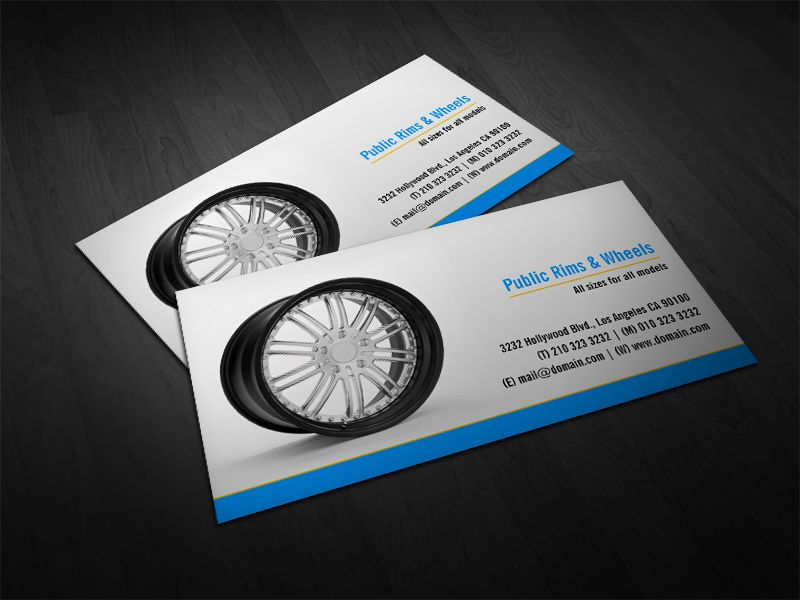 Rims and wheels body shop business card pinterest business cards rims and wheels body shop business cards by j32 design cars wheels businesscards design colourmoves