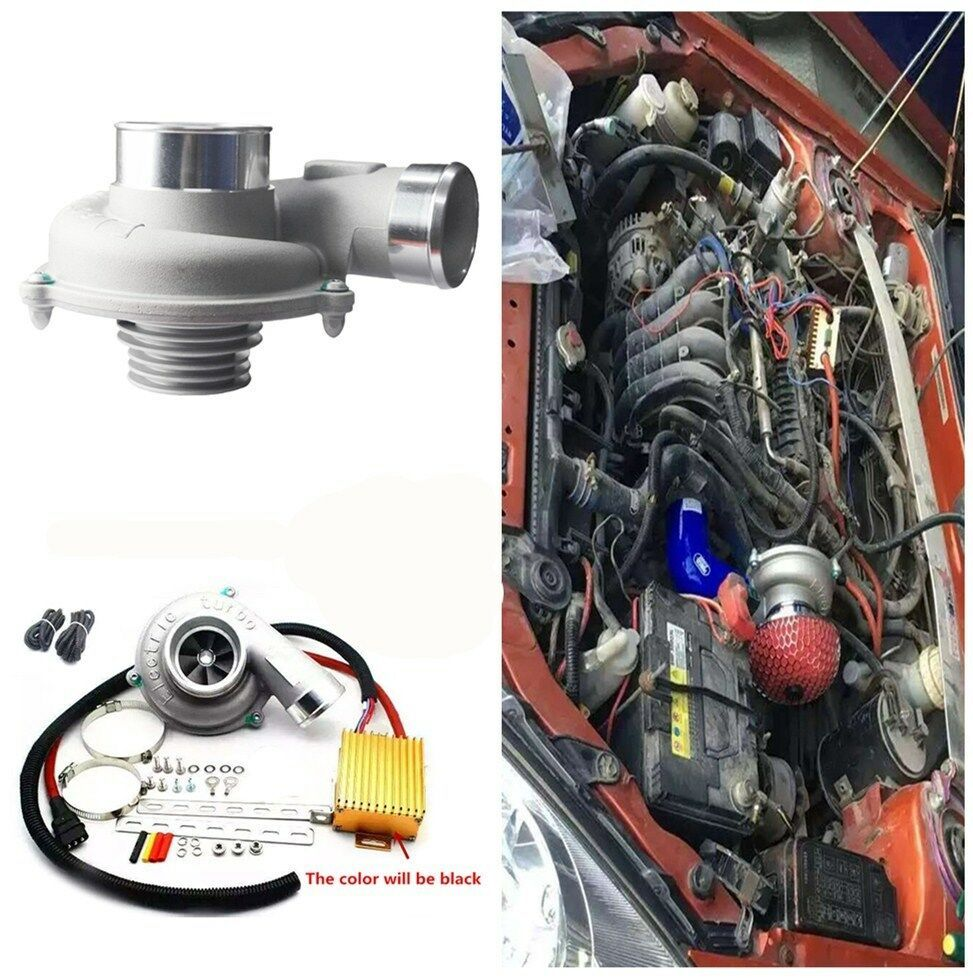 eBay Sponsored Electric Turbo Supercharger Thrust Car