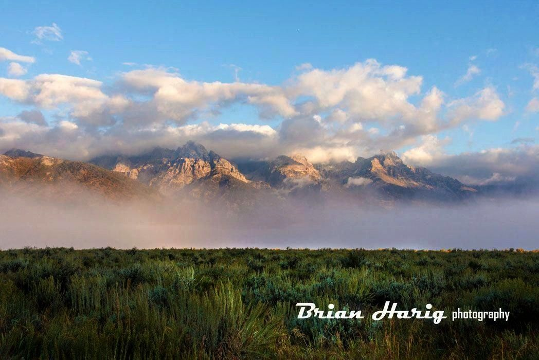 Teton Sunrise - Grand Tetons National Park Wyoming. Starting at $27. Brand new image from Brian Har