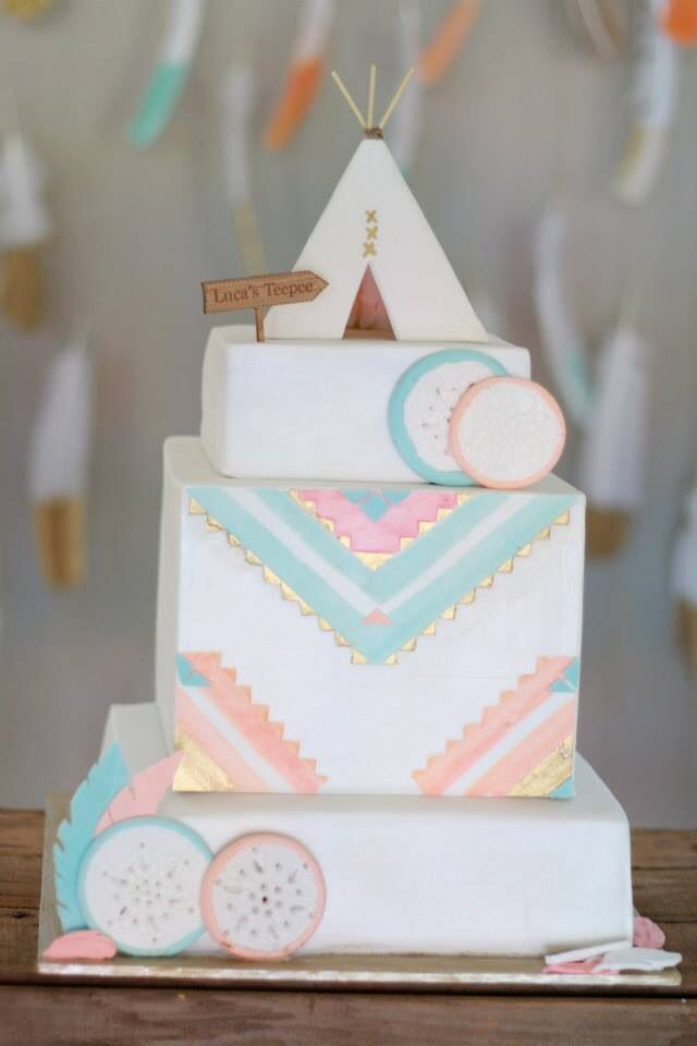 Boho Birthday Cakes Google Search Elodie S 1st