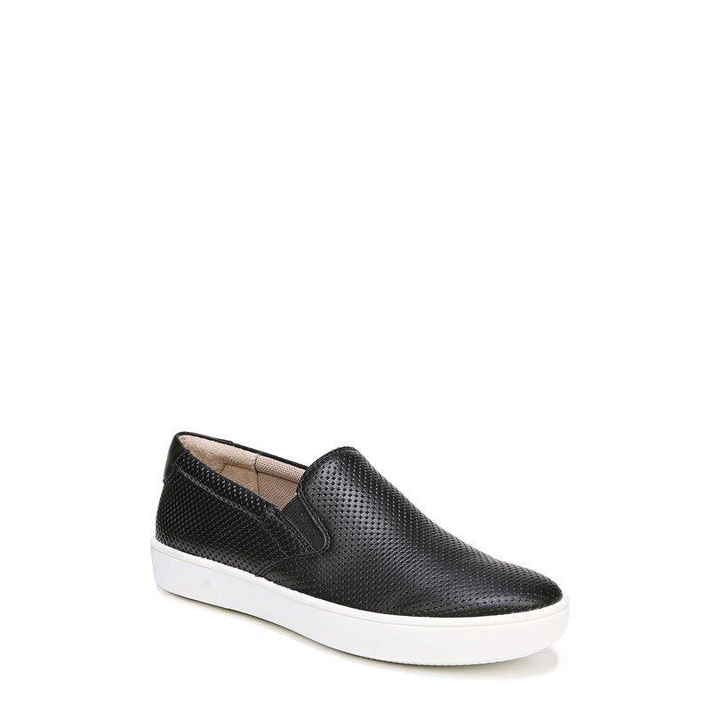 Ava Slip On Sneakers (Black Pe - vozeli
