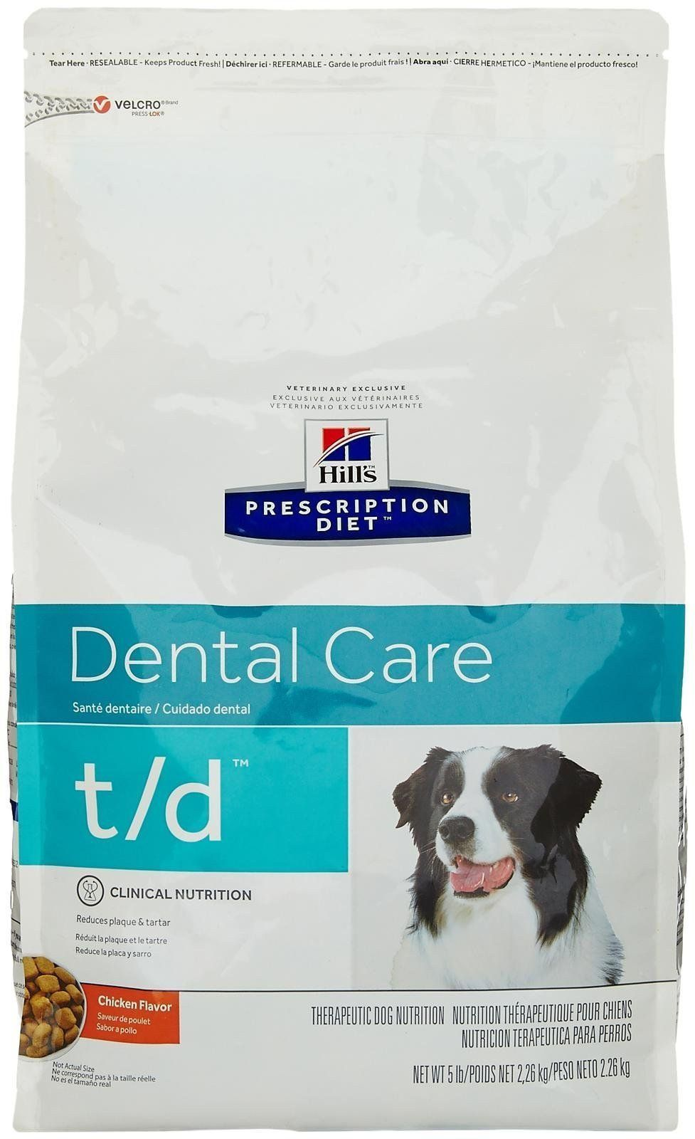 Hills prescription diet td dental health dry dog food 5