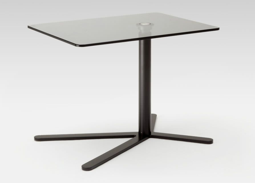 Contemporary Glass Side Table   8240 By Gunther Kleinert