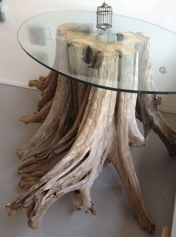 Wurzeltisch Fur Das Wohnzimmer Treibholz Mobel Treibholz Deko