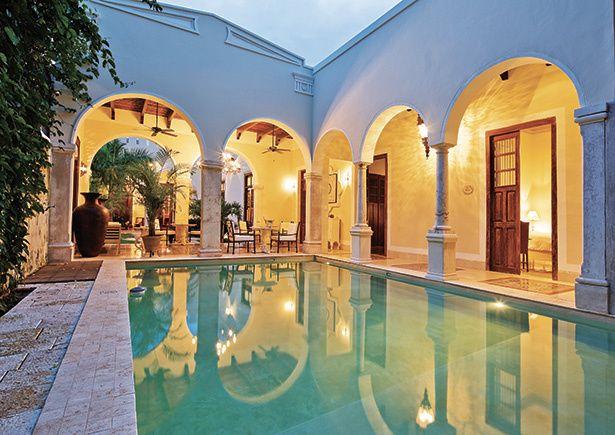 Casa lecanda marroqu style merida boutique y yucatecos for Hoteles en merida con piscina