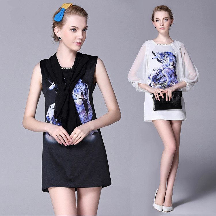 2015 Autumn New Arrivals 2015 Women Dresses 100% Cotton Ladies' A-line Dress Fashion Casual Dress.Just need $33.98