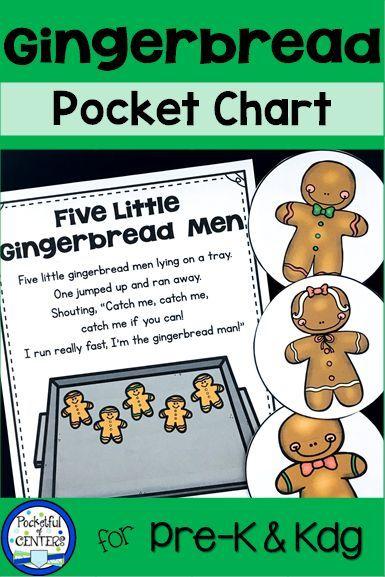 Gingerbread Centers Gingerbread Man Activities Kindergarten