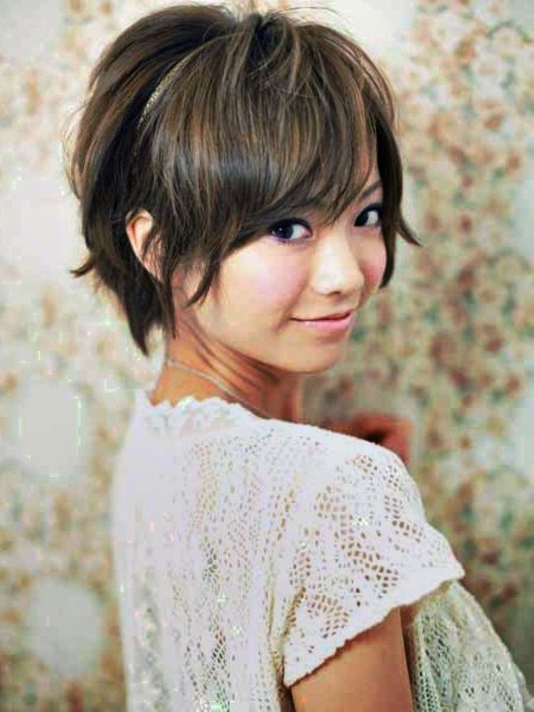 Korean Short Hair Style For Round Face Asian Short Hair Short Hair Styles For Round Faces Medium Hair Styles