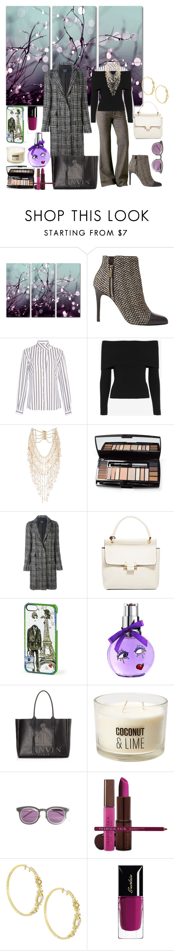 """""""Winter Work Day!"""" by denibrad ❤ liked on Polyvore featuring мода, Trademark Fine Art, Lanvin, Alexis Mabille, Free People, A.L.C., Rosantica, Hakusan, Fashion Fair и Penny Preville"""