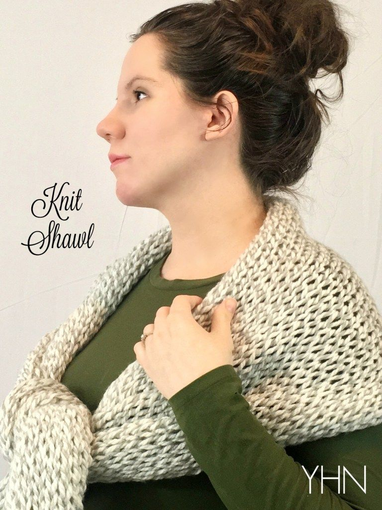 Knit shawl or jumbo scarf with pattern from brennaannhandmade etsy knit shawl or jumbo scarf with pattern from brennaannhandmade etsy shop yhn yarn bankloansurffo Choice Image