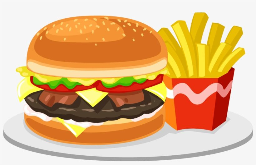 Download Food Png Transparent Free Images Fast Food Clipart Png Png Image For Free Search More High Quality Free Transparent Food Png Food Clipart Fast Food