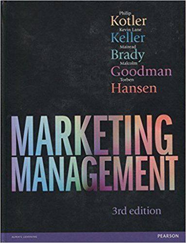 Marketing Management 3rd Edn Amazon Co Uk Philip Kotler Kevin Keller Dr Mairead Brady Malcolm Goodman Marketing Manager How To Pass Exams Business Books