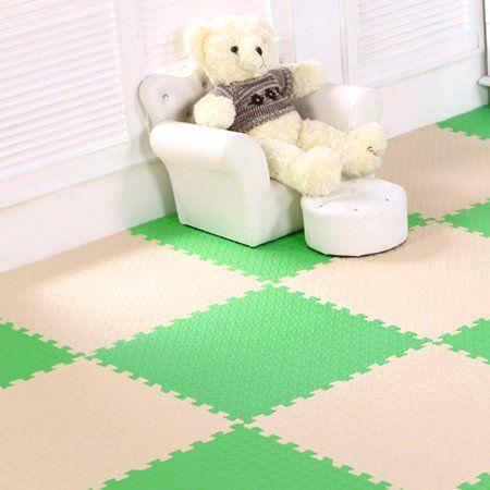 6pcs Set Playground Mats For Home Exercise Floor Mat Eva Foam Mat For Sofe Interlocking Gym Carpet Exercise Equi Soft Flooring Durable Carpet Foam Mat Flooring