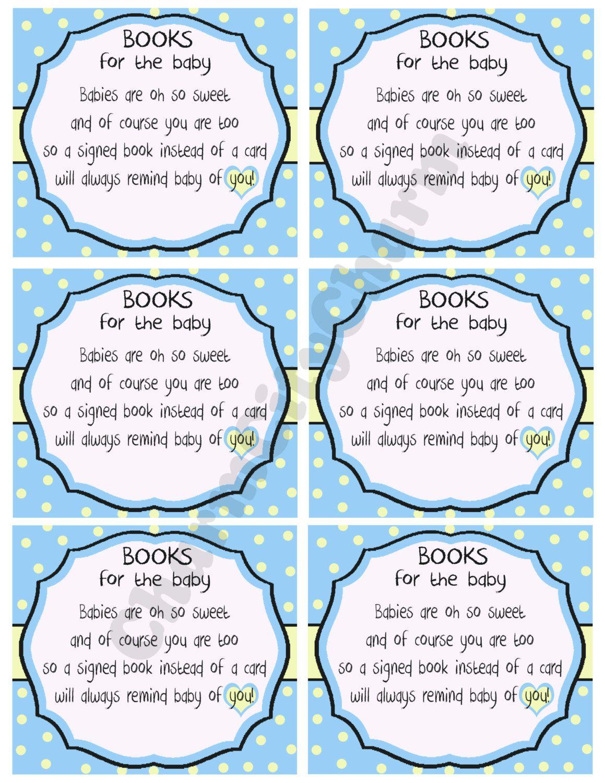 attractive baby shower book poem part 12 baby shower book