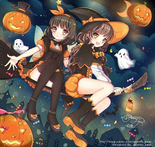 Pin Auf Halloween Anime Art Ect