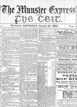 How To Find And Use Free Irish Newspaper Archives In Your Family History Research Newspaper Archives Family History Historical Newspaper