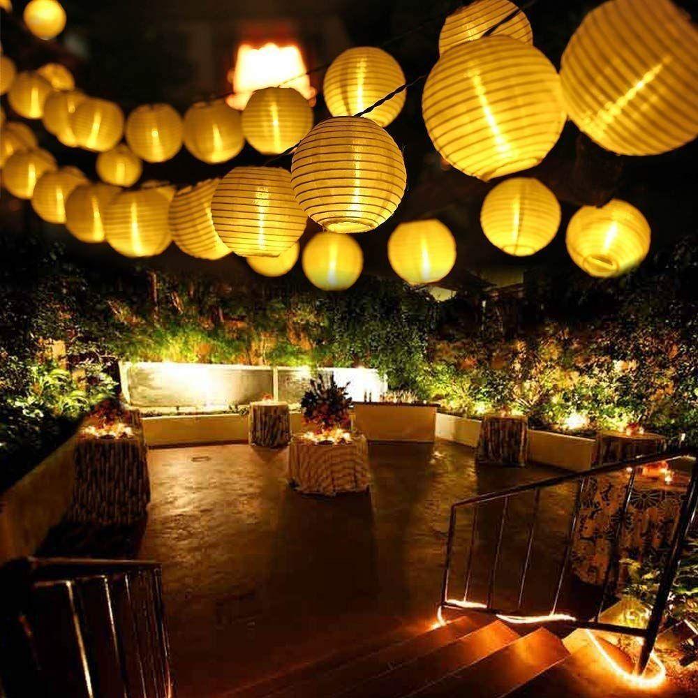 Guirnalda de luces led para fiestas de jard/ín
