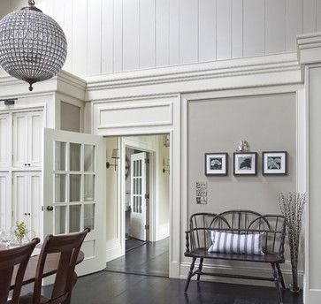 Wall Morris Design New England Style House Kerry Ireland Traditional Dining