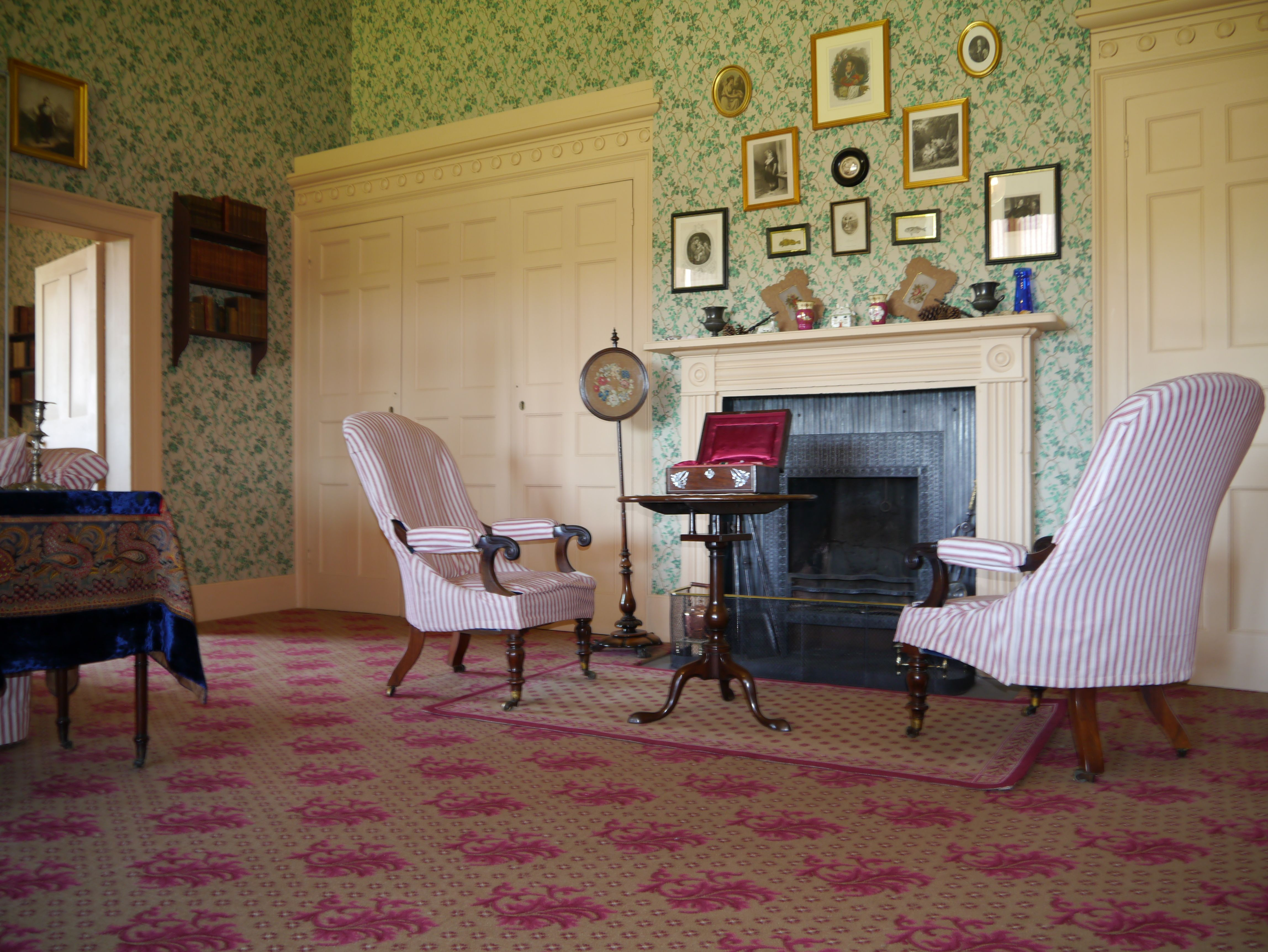the nursery suite at audley end house essex carpet design from brintons archive: american colonial homes brandon inge
