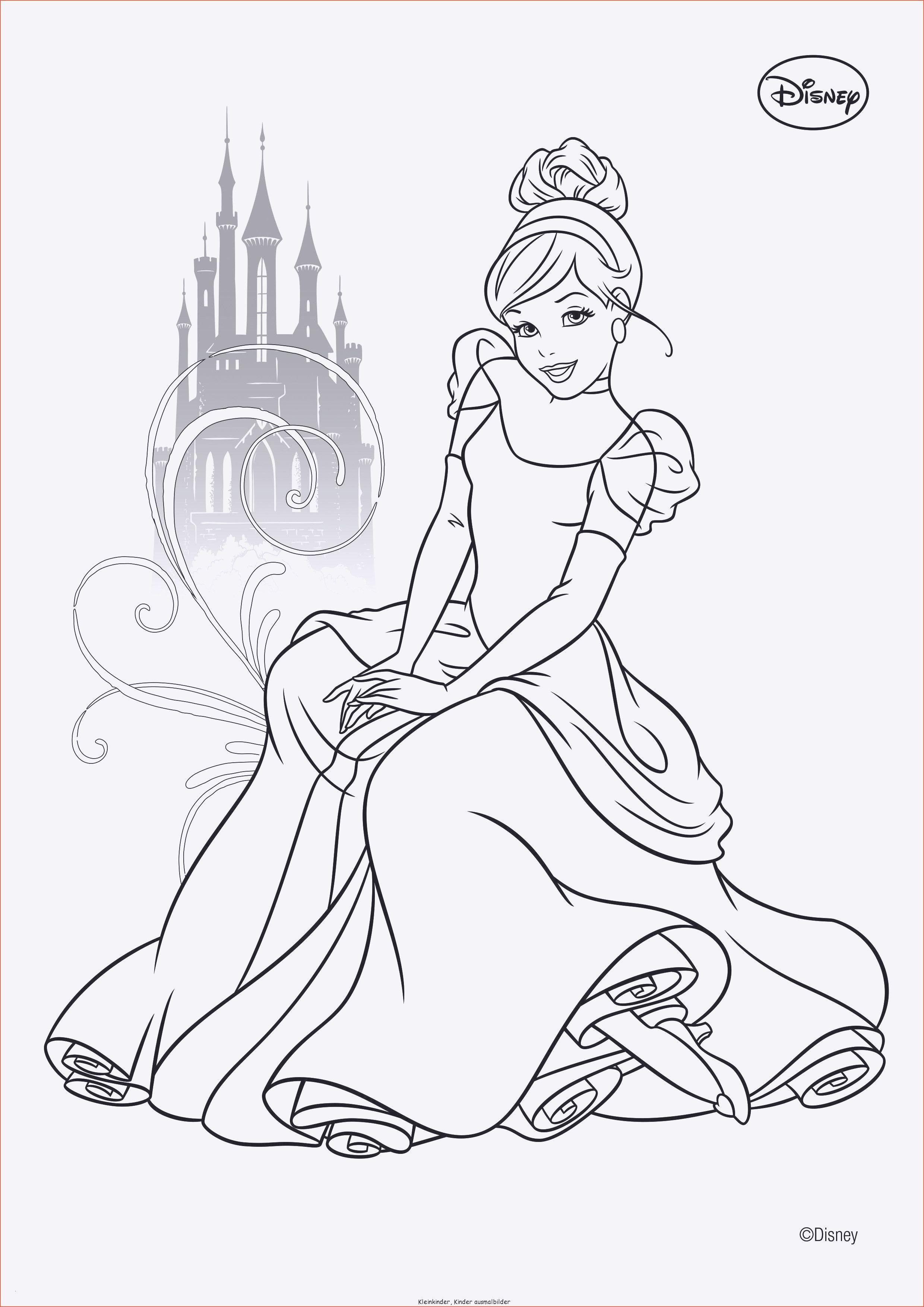Ausmalbilder Prinzessin Disney