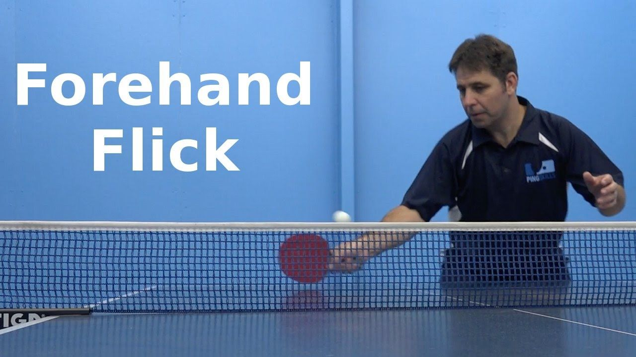 Forehand Flick Table Tennis Pingskills Table Tennis Tennis Olympic Table Tennis