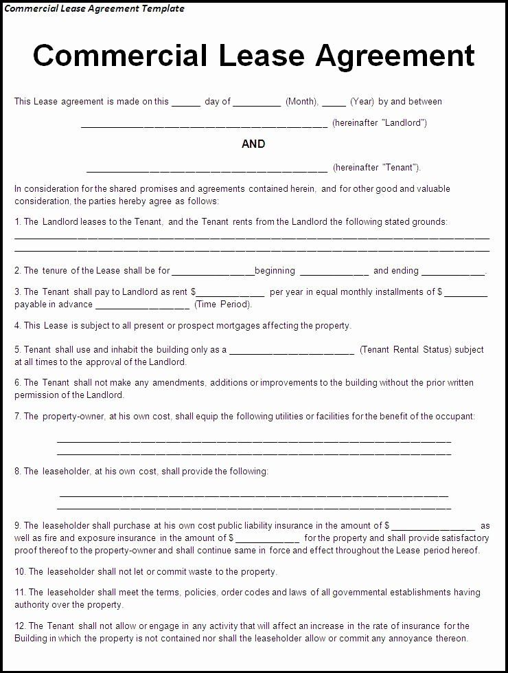 Ms Word Rental Agreement Template In 2020 Lease Agreement Free