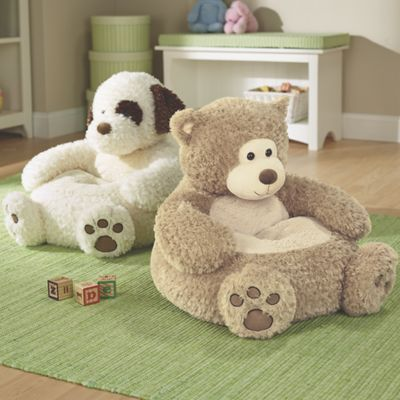 Kids Plush Animal Chair The Dog Is So Cute