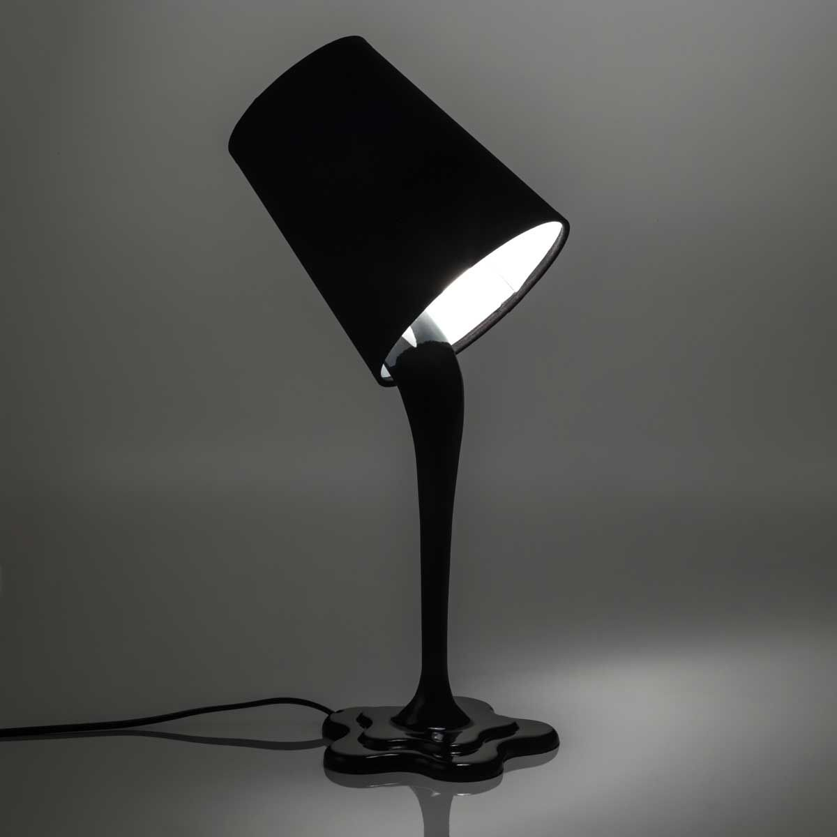 Abajur Lata de Tinta Preto | foco de luz | Pinterest