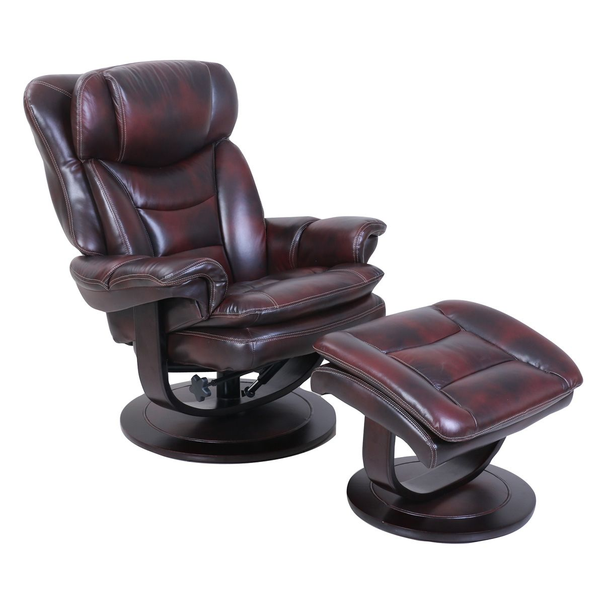 Sensational Barcalounger Roscoe Pedestal Recliner Plymouth Mahogany Andrewgaddart Wooden Chair Designs For Living Room Andrewgaddartcom