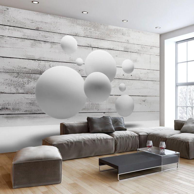 Wandmalerei Wohnzimmer Ideen: Details Zu FOTOTAPETE HOLZOPTIK VLIES TAPETE 3D OPTIK